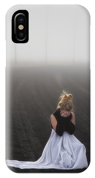 Ladies iPhone Case - And Tears Shall Drown The Wind by Evelina Kremsdorf