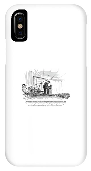 0 iPhone Case - And Though In 1969 by Lee Lorenz