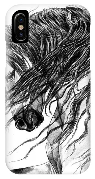 Andalusian Arabian Head IPhone Case