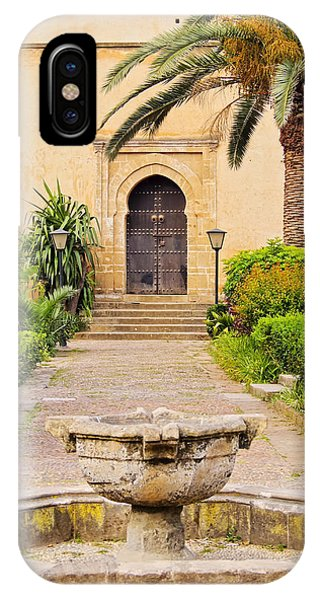 Andalusian Gardens In Rabat IPhone Case