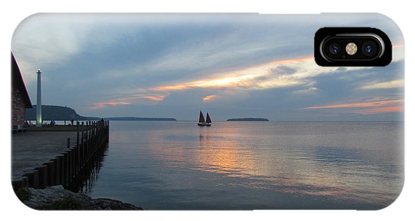 Anderson Dock Sunset IPhone Case