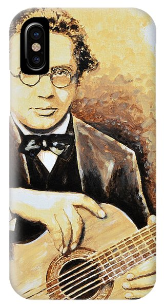 Andres Segovia IPhone Case