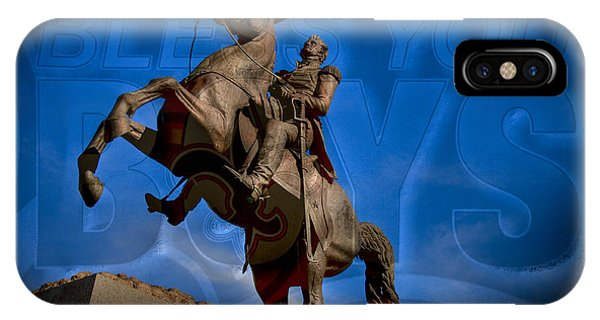 Andrew Jackson And New Orleans Saints IPhone Case