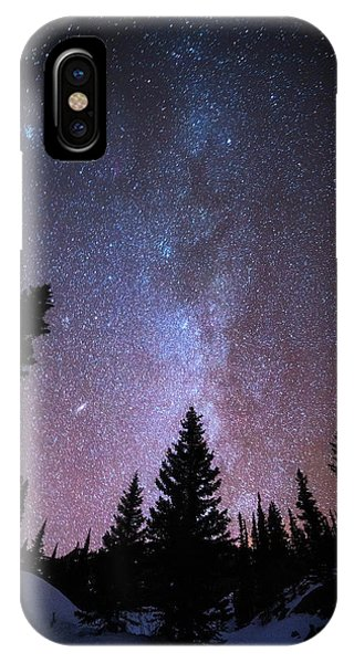 Rocky Mountain iPhone Case - Andromeda Our Neighbor by Darren  White