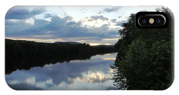 Androscoggin River Reflections IPhone Case