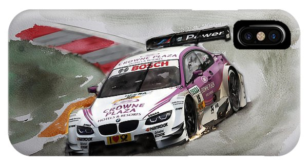 Andy Priaulx Bmw Dtm IPhone Case