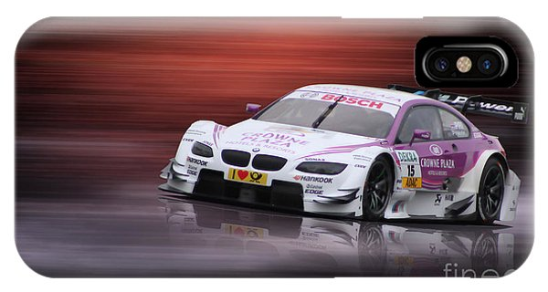 Andy Priaulx M3 Dtm 2012 IPhone Case