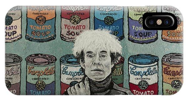 Andy Warhol Phone Case by Heidi Hooper