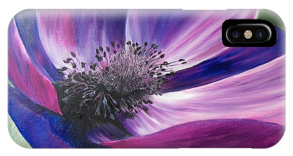 Anemone Coronaria IPhone Case