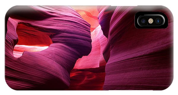 Angel Arch In Antelope Canyon IPhone Case