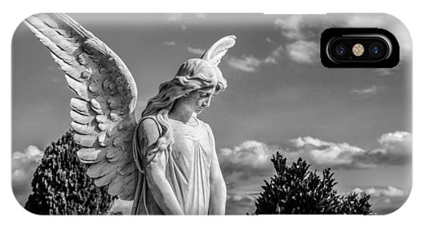 Angel At The Heredia General Cemetery IPhone Case