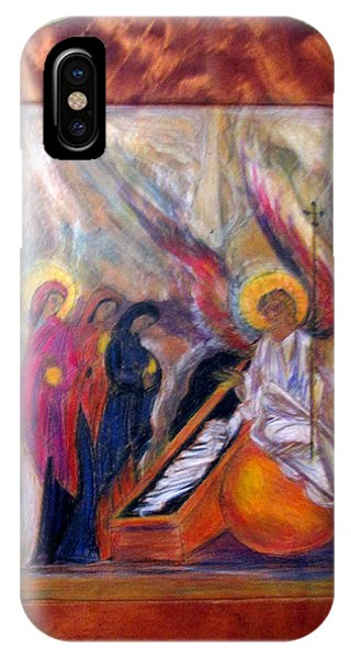 Angel At The Tomb IPhone Case