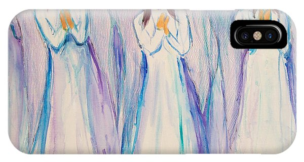 Angel Choir IPhone Case