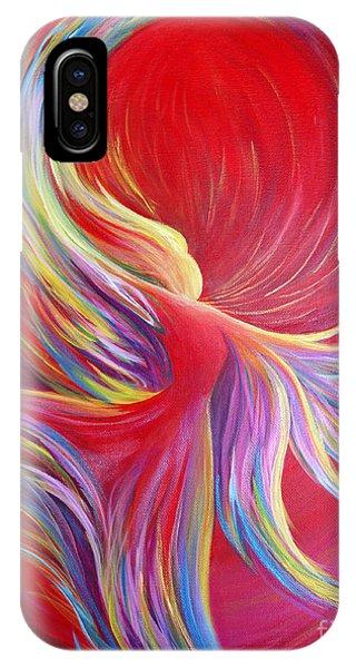 Angel Dance IPhone Case