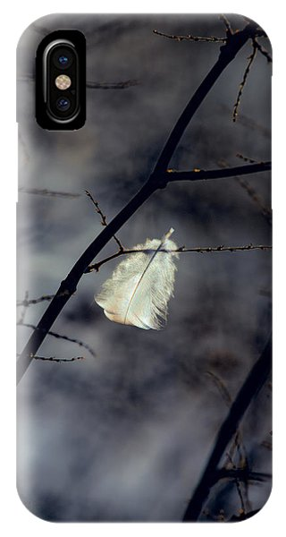 Uplift iPhone Case - Angel Feather by Bob Orsillo