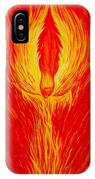 Angel Fire IPhone Case