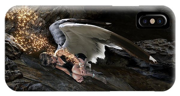 Angel- Give Your Worries To The Father IPhone Case
