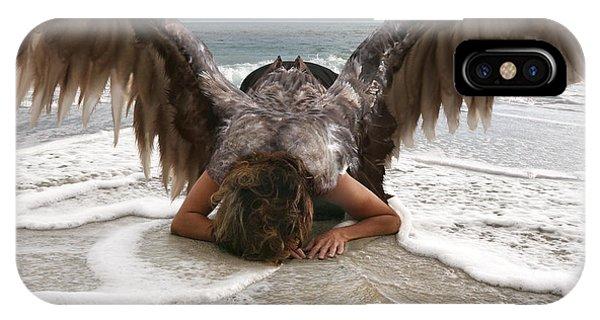 Angel- I Feel Your Sorrow  IPhone Case