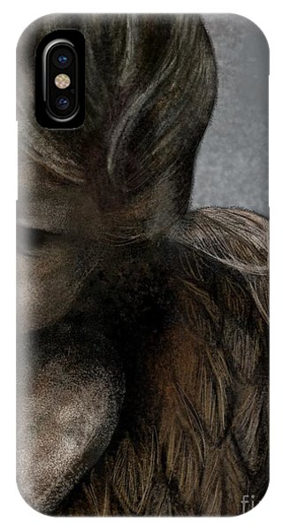 Angel In Pencil IPhone Case