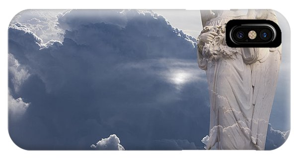 Angel In The Clouds Phone Case by Jim Zuckerman