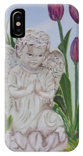 Angel In The Garden IPhone Case