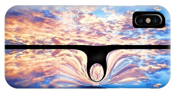 Angel In The Sky IPhone Case