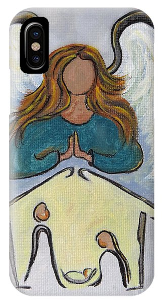 Angel - Messenger Of Joy IPhone Case
