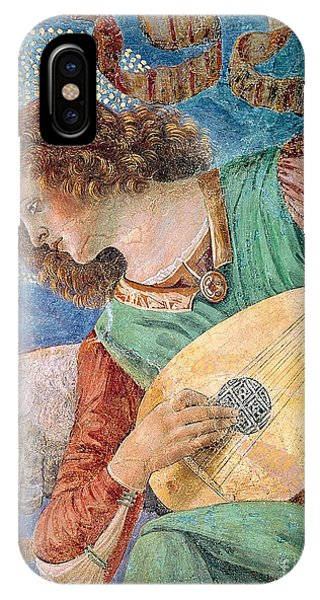 Strum iPhone Case - Angel Musician by Melozzo da Forli