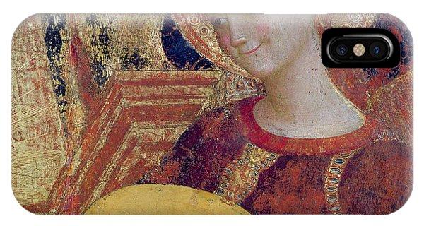 Strum iPhone Case - Angel Musician by Sassetta