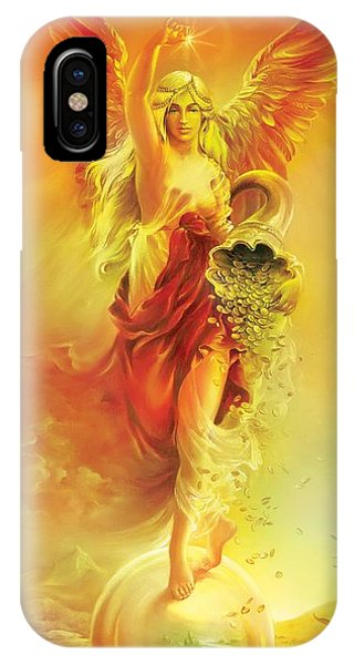 Angel Of Abundance - Fortuna IPhone Case
