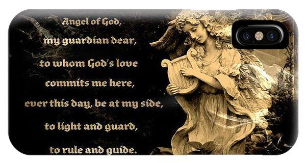 Angel Of God IPhone Case