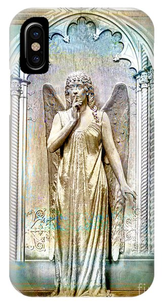 Angel Of Silence.genoa IPhone Case