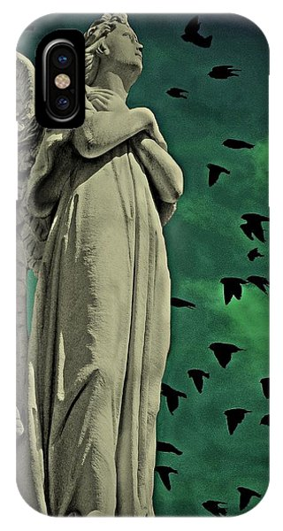 Angel Of Stone IPhone Case