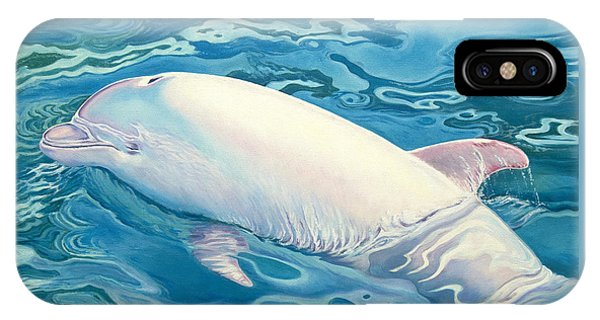 Whale iPhone Case - Angel Of Taiji by Catherine Garneau