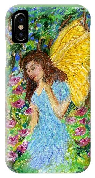 Angel Of The Garden IPhone Case