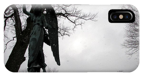 Angel Over Me IPhone Case