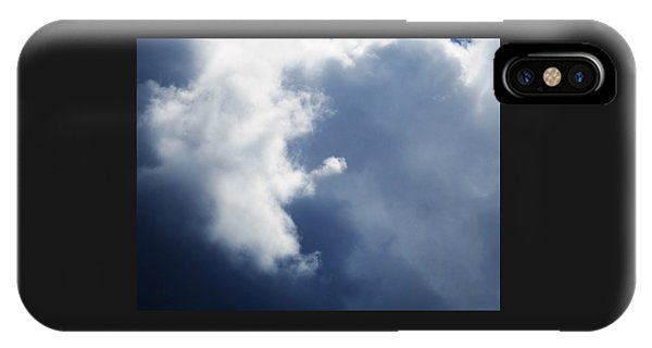 Cloud Angel Kneeling In Prayer IPhone Case