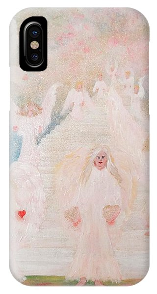 Angel Stairway IPhone Case