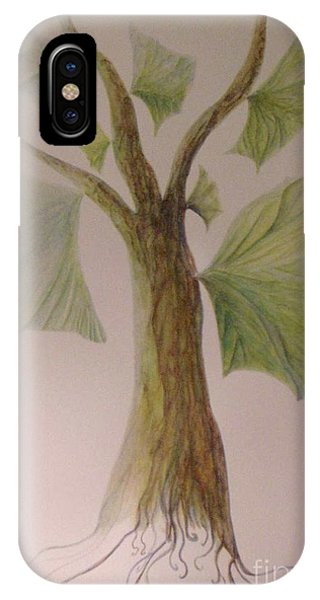 Angel Tree IPhone Case