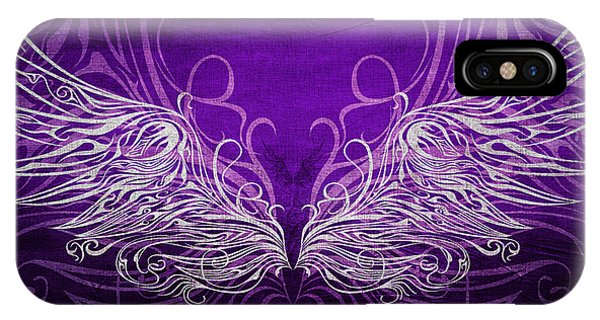 Angel Wings Royal IPhone Case