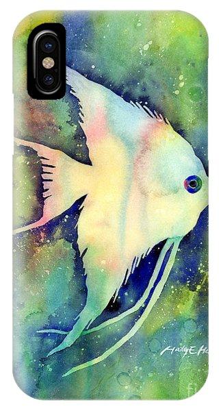 Fish iPhone Case - Angelfish I by Hailey E Herrera