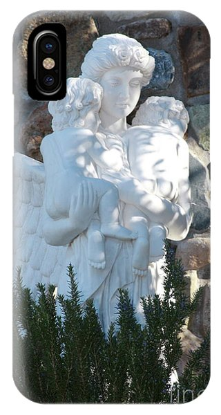 Angelic Motherhood IPhone Case