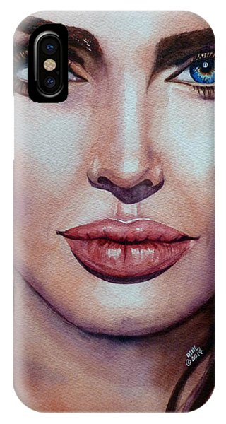 Angelina IPhone Case