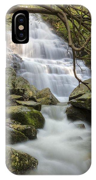 Chilhowee iPhone Case - Angels At Benton Waterfall by Debra and Dave Vanderlaan
