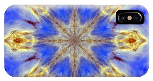 Angels In The Sky Mandala IPhone Case