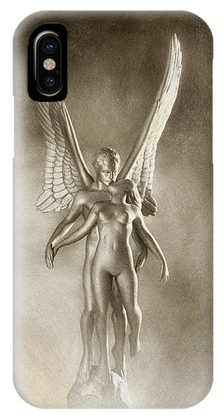 iPhone Case - Angel's Kiss by Ron Morecraft