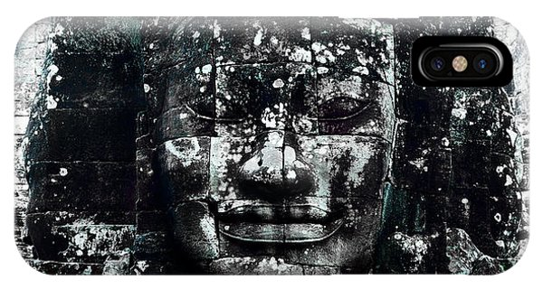 Angkor Thom iPhone Case - Angkor Thom by Julian Cook