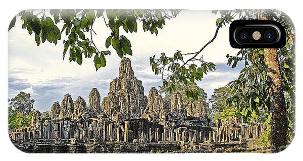 Angkor Wat No. 1 Phone Case by Harold Bonacquist