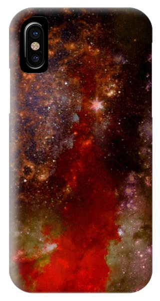 Angry Heavens IPhone Case
