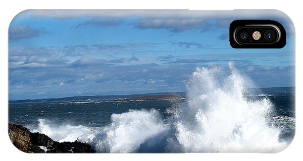 Angry Shores IPhone Case